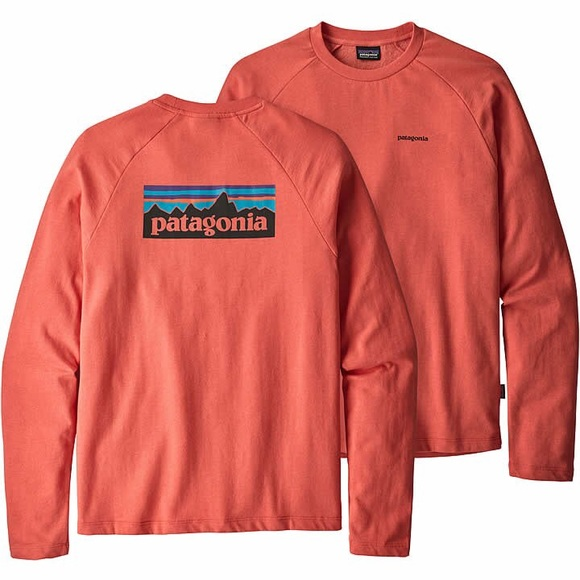 Patagonia Coral Raglan Sleeve Pullover Crewneck Sweatshirt